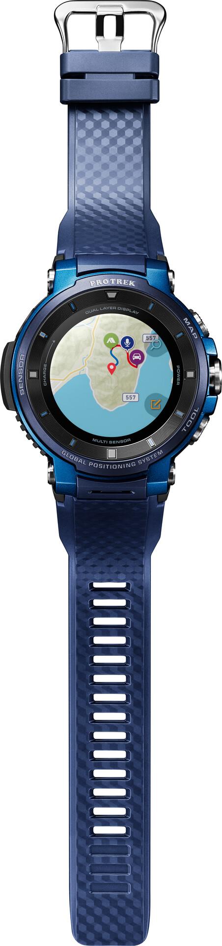 F30 Bluebluegrey Casio Bucae Smartwatch Smart Trek Herren Pro Wsd XwiTOZuPk
